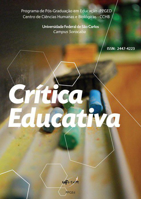Capa Revista Crítica Educativa